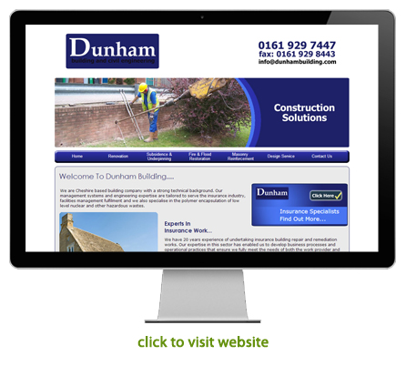 civil engineering and construction website design example 2