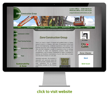 civil engineering and construction website design example 5