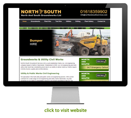 civil engineering and construction website design example 6