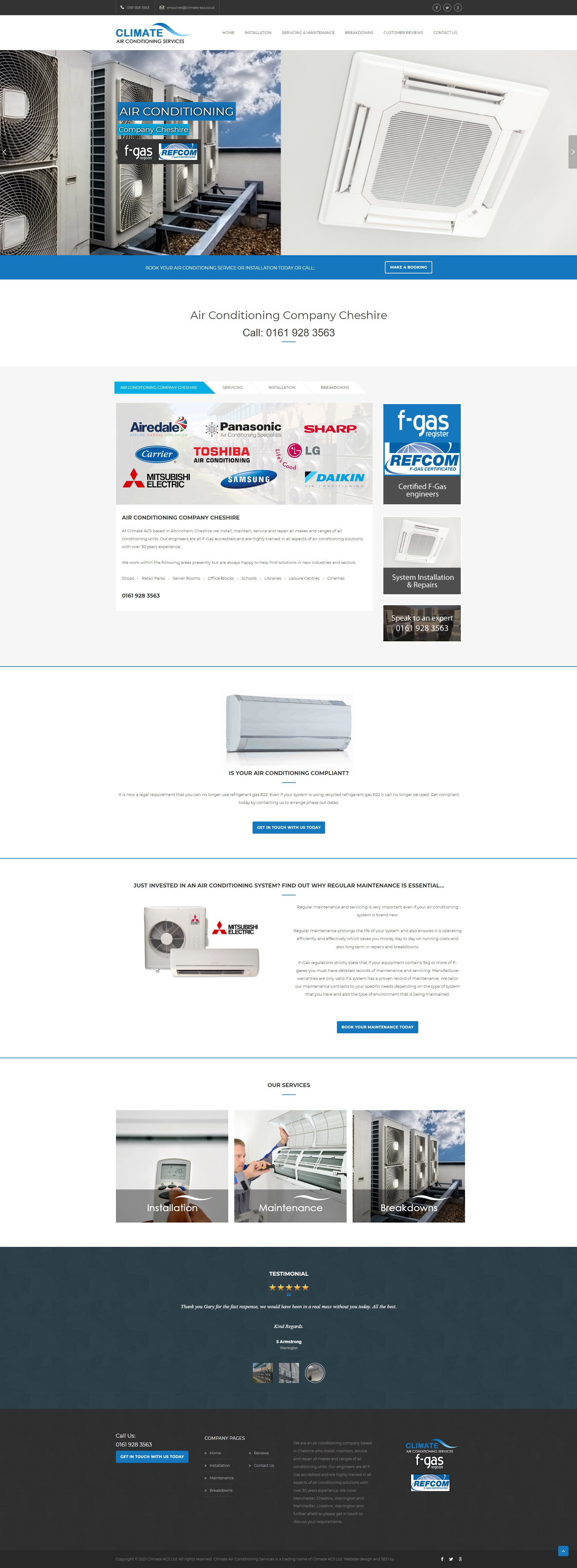 Website-Design-For-airconditioning-company