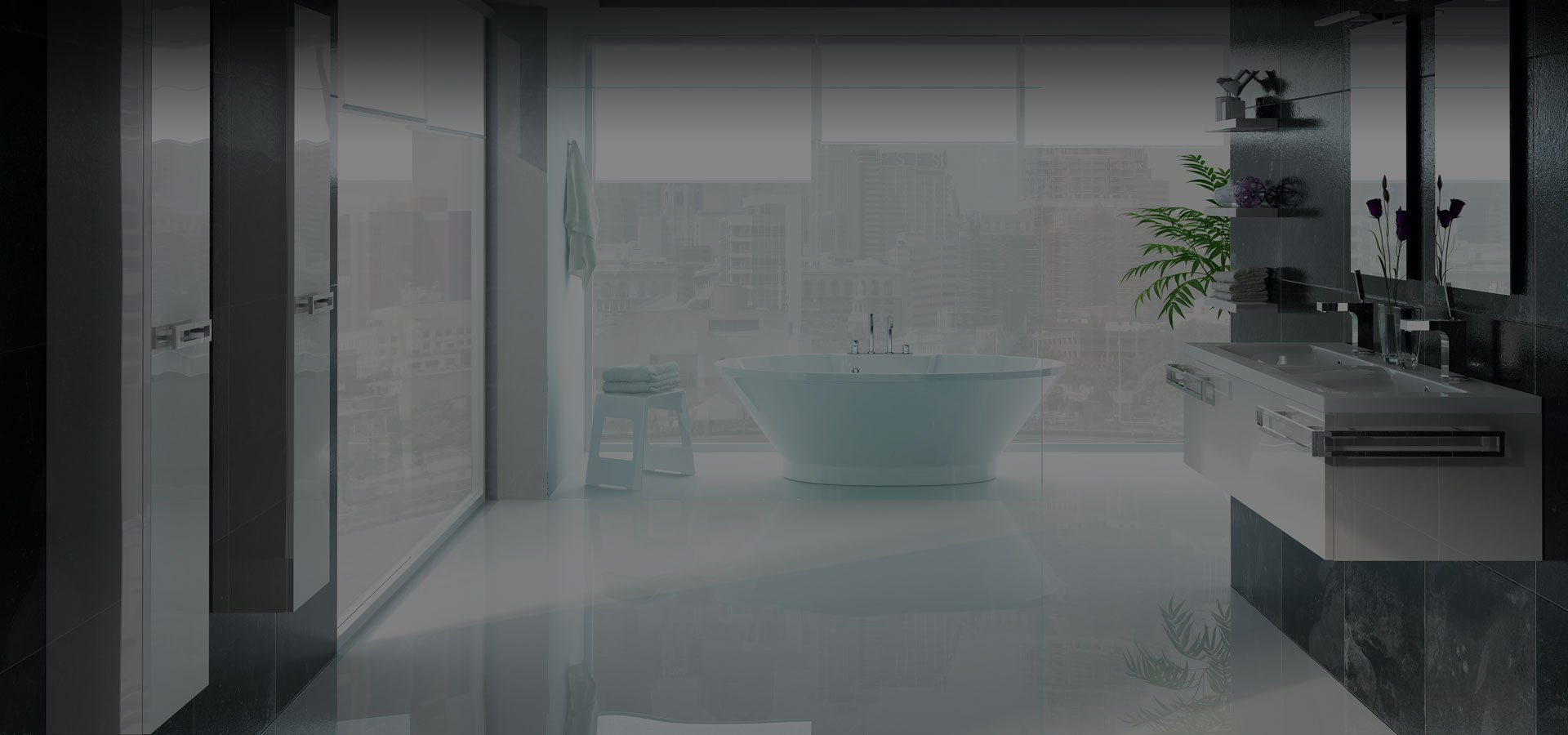 mizu bathrooms website design