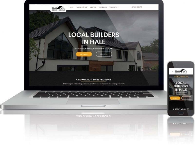 website design for building company