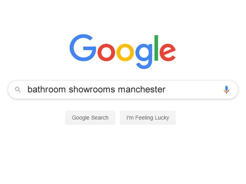 SEO for a bathroom showroom company