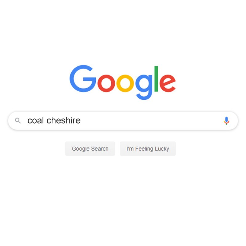 SEO for a coal supplier cheshire fuels