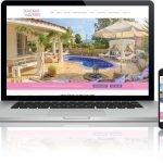 Website Design for Holiday Villa